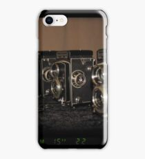 Rolleis through EOS RT iPhone Case/Skin