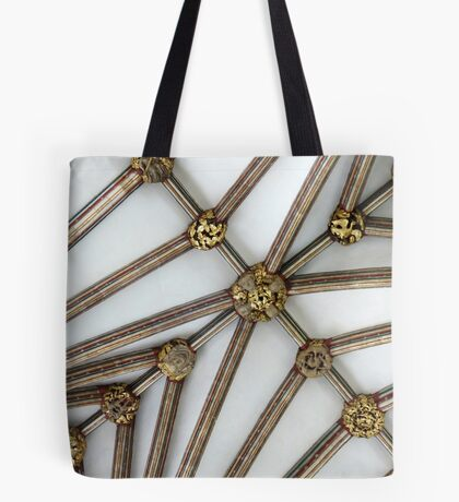 Vaulted Ceiling, Exeter Cathedral, Devon Tote Bag