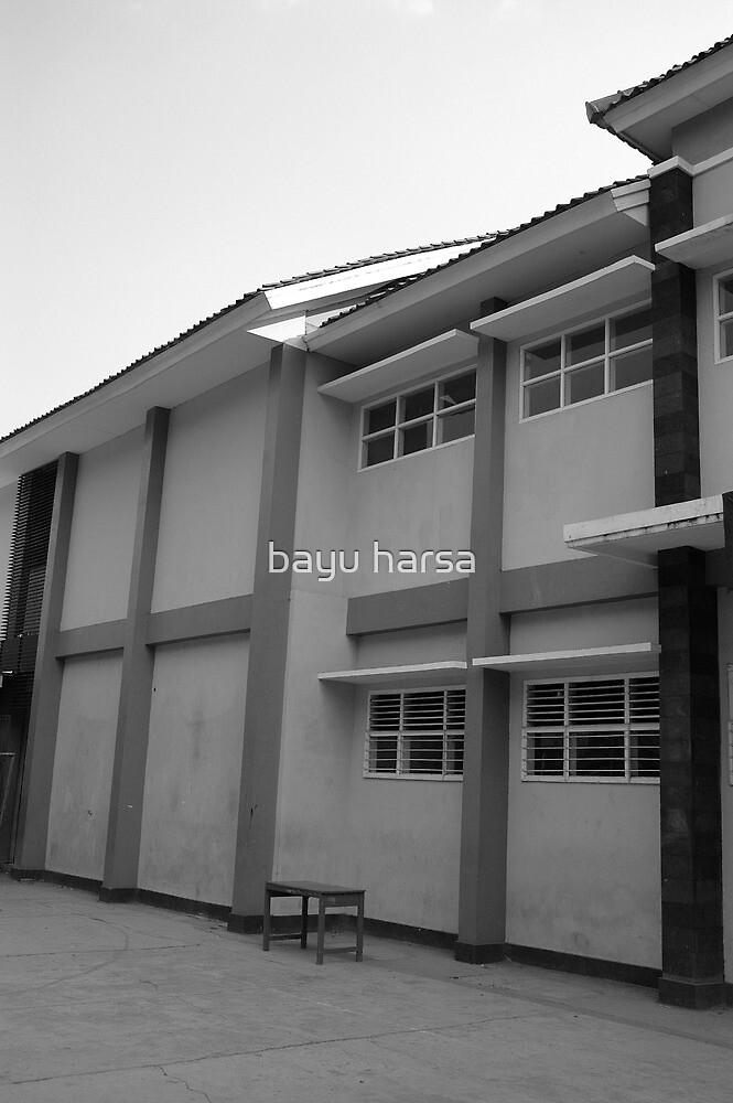 school building by bayu harsa