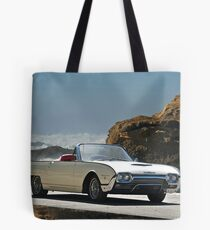 1962 Ford Thunderbird Roadster Tote Bag