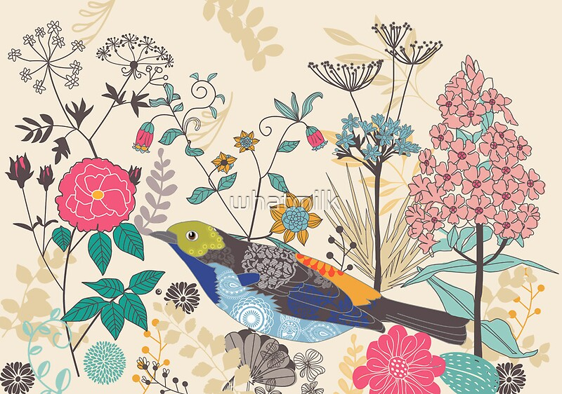 "Secret Garden: ""Secret Garden"" Art Prints By Whatmilk"