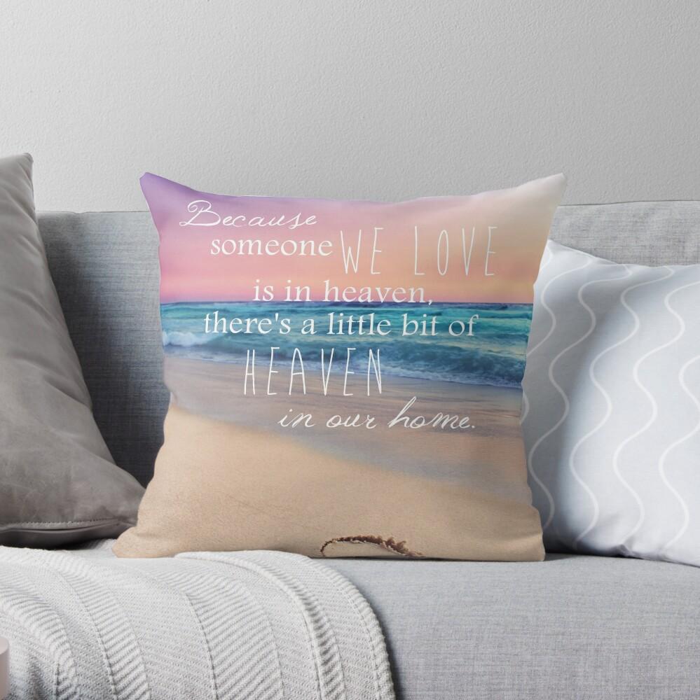 A Little Piece Of Heaven  Throw Pillow