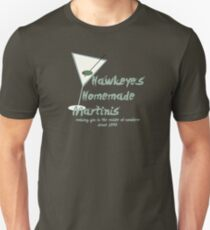 Hawkeye's Homemade Martinis Unisex T-Shirt