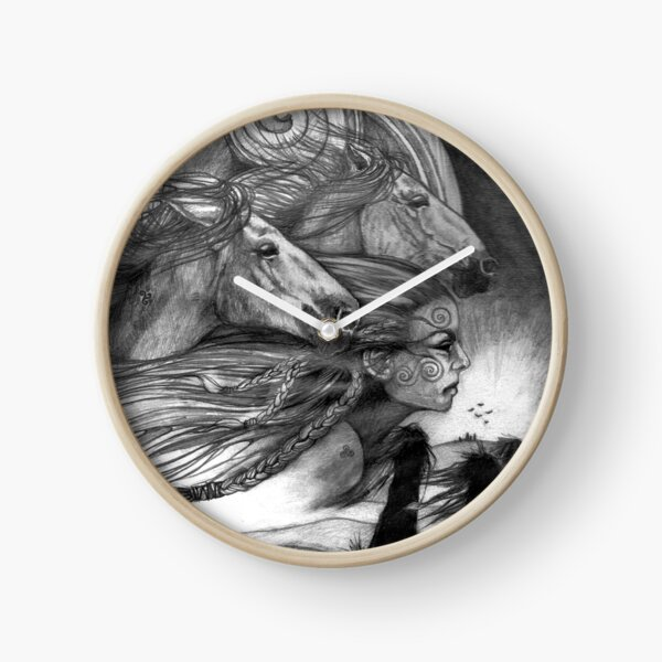 Macha by Stuart Littlejohn Clock