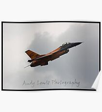 Cosford airshow F16 Poster
