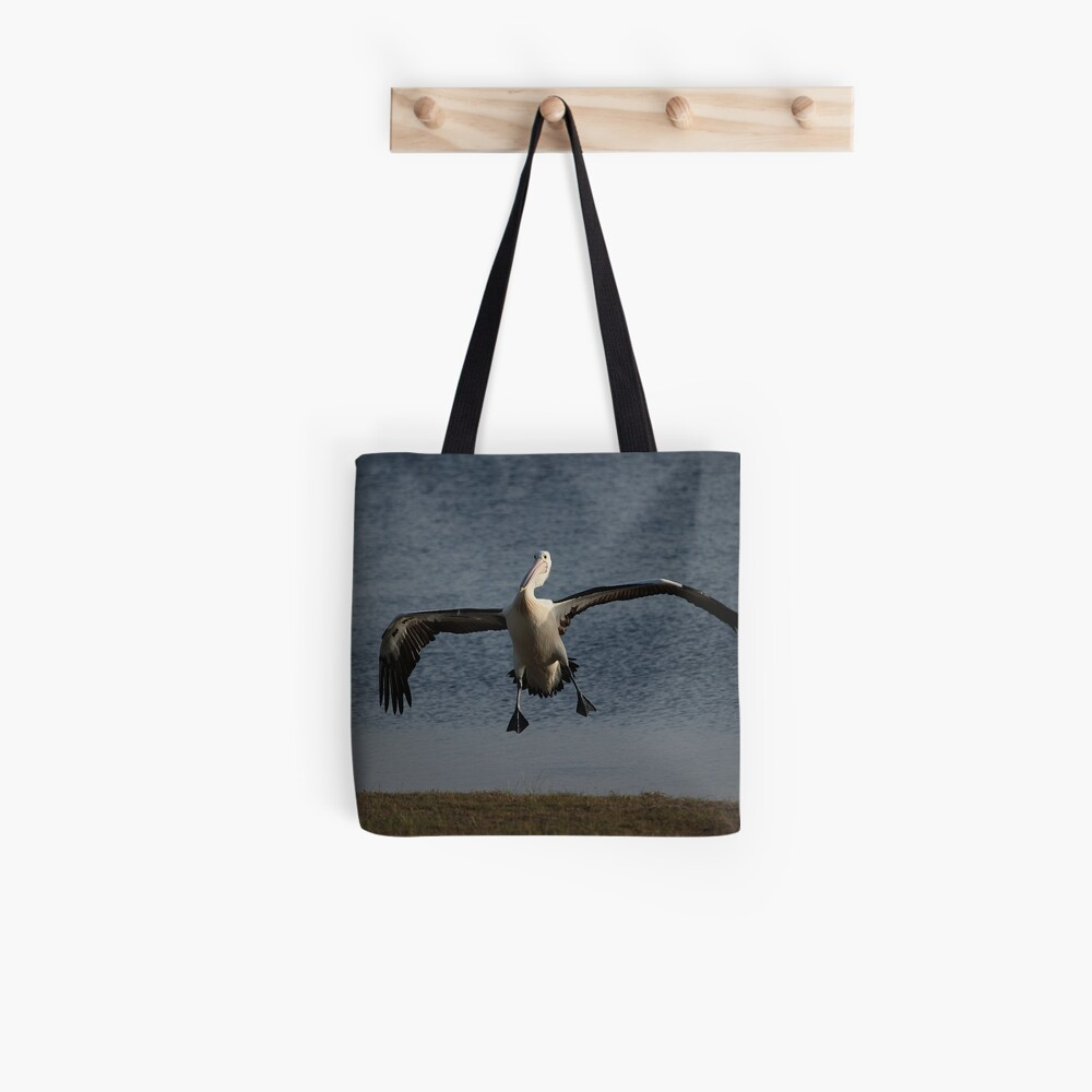 Coming in for a landing... Tote Bag