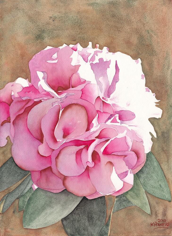 Pink Azalea by Ken Powers