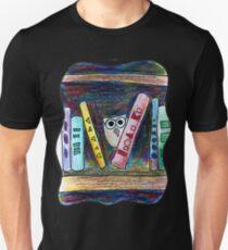 Bookworm Owl Unisex T-Shirt