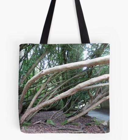 Crazy Trees - Lost Gardens of Heligan Tote Bag