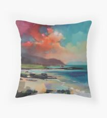 Rum From South Uist Throw Pillow