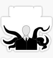 Slender Man Got A Bald Head Sticker