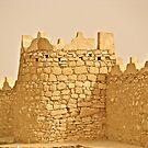Arabian ancient fort.   by Elvira