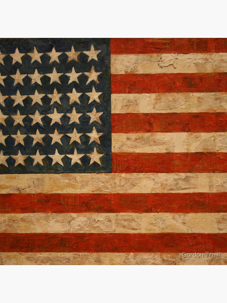 American Flag by Jasper Johns von Gordo05