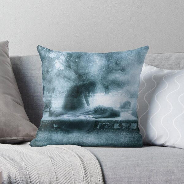 Muerta Throw Pillow