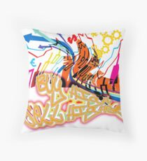 Buy high, sell higher Throw Pillow
