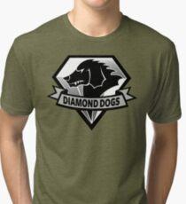 Diamond Dogs - 2015 Edition  (MGSV) Tri-blend T-Shirt