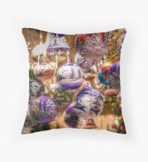 Festive Season II Throw Pillow