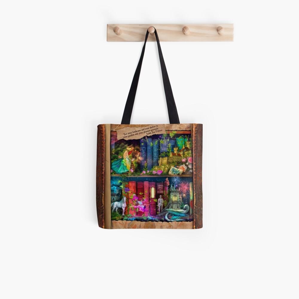 The Curious Library Calendar - December Tote Bag