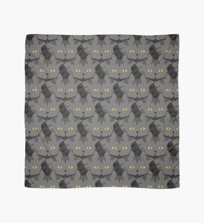Grey #03  Tabby Cat Cattern [Cat Pattern] Scarf