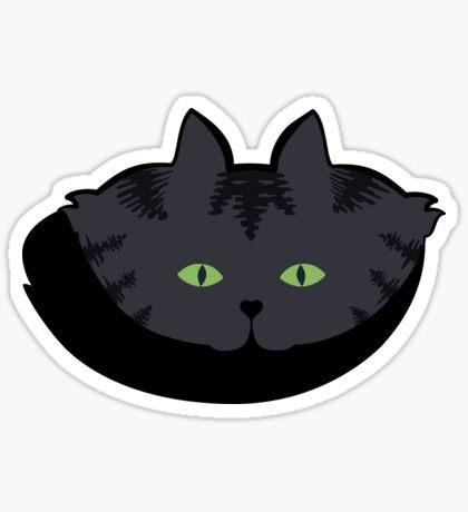Grey #05  Tabby Cat Cattern [Cat Pattern] Sticker