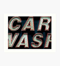 Car Wash, Broadway Style Art Print