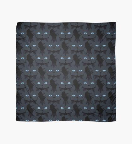 Grey #06  Tabby Cat Cattern [Cat Pattern] Scarf