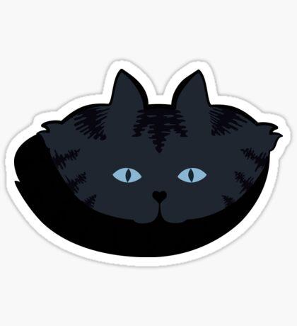 Grey #06  Tabby Cat Cattern [Cat Pattern] Sticker