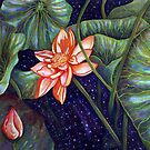 Cosmic Lotus by Rhonda  Anderson