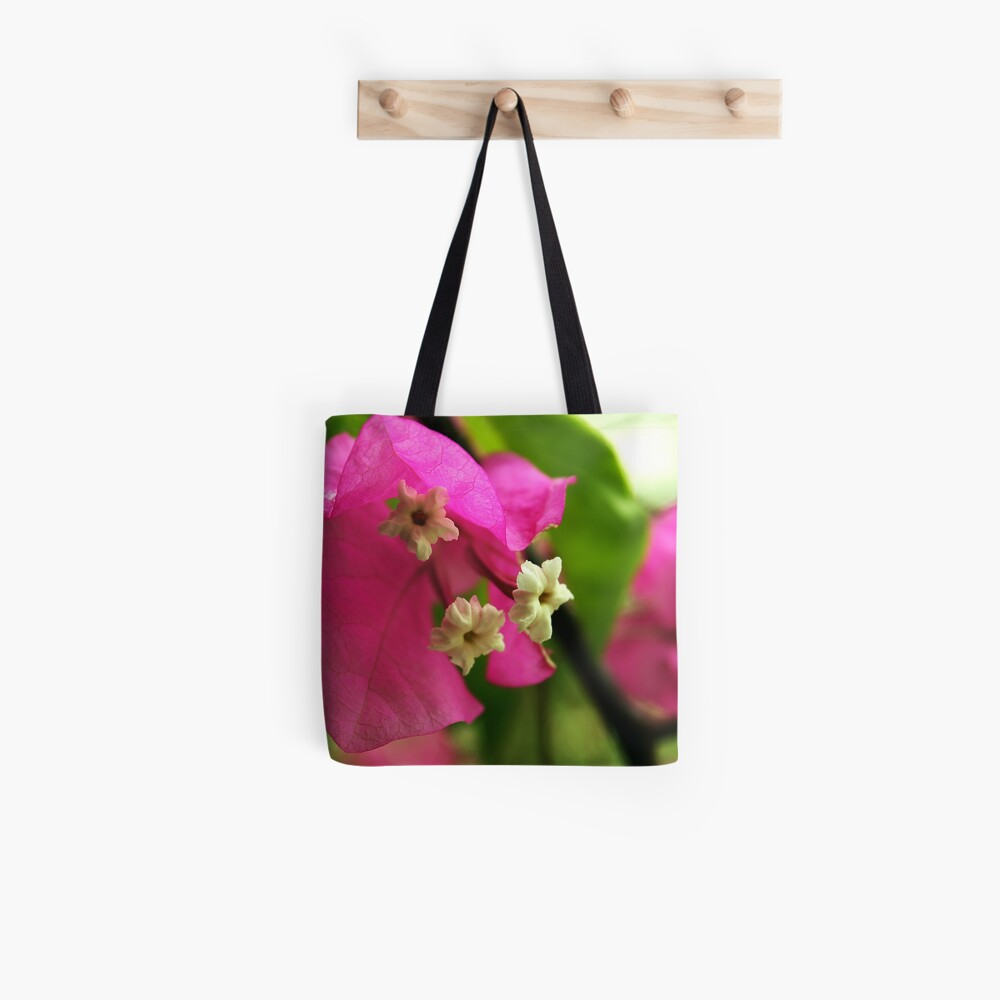 Open Flower Tote Bag