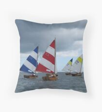 Follow the Leaders Throw Pillow