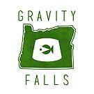 Gravity Falls Oregon by pondlifeforme