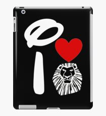 I Heart The Lion King (Inverted) iPad Case/Skin