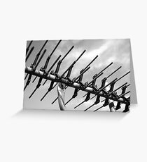 tv antenna Greeting Card