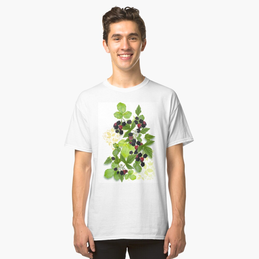 Blackberries from Old Nilsson's Farm Classic T-Shirt