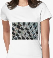 Basalt Larva flows into the Harpa Women's Fitted T-Shirt