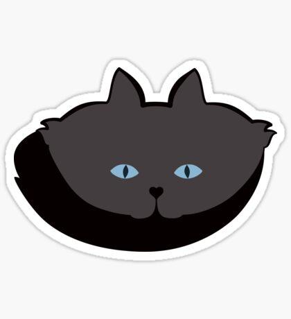 Grey #04 Cat Cattern [Cat Pattern] Sticker