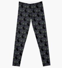 Grey #05 Cat Cattern [Cat Pattern] Leggings