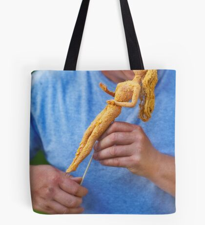 """Bad Bambi Series, #28 """"State Fair's Newest Treat""""  Tote Bag"""