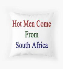 Hot Men Come From South Africa  Dekokissen
