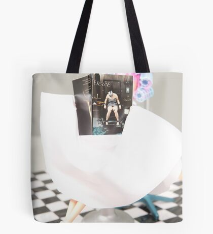 """Bad Bambi Series, #32 """"Read the Title, Stupid"""" Tote Bag"""