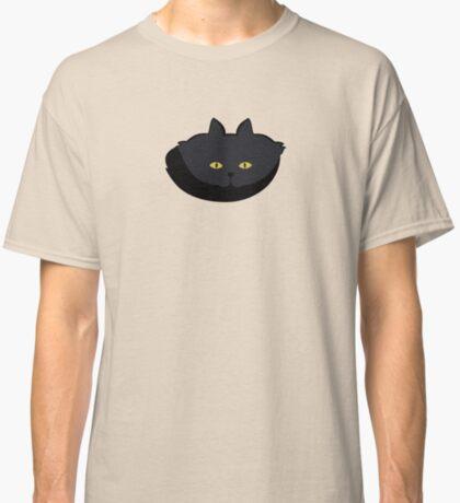Black Cat Cattern [Cat Pattern] Classic T-Shirt