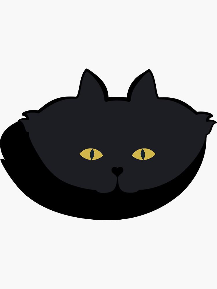Black Cat Cattern [Cat Pattern] by brentpruitt
