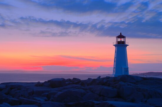 Peggy's Cove Light by Stephen Beattie