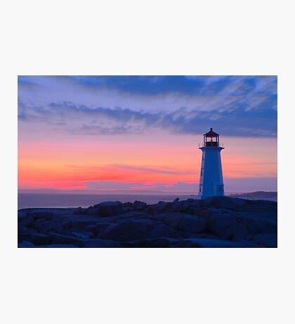 Peggy's Cove Light Photographic Print