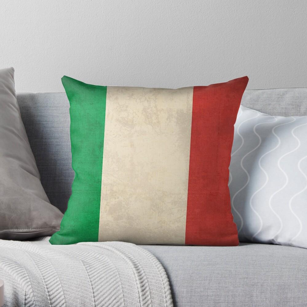 Italy Flag Dekokissen
