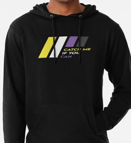 Pride Stripe: Catch Me If You Can Lightweight Hoodie