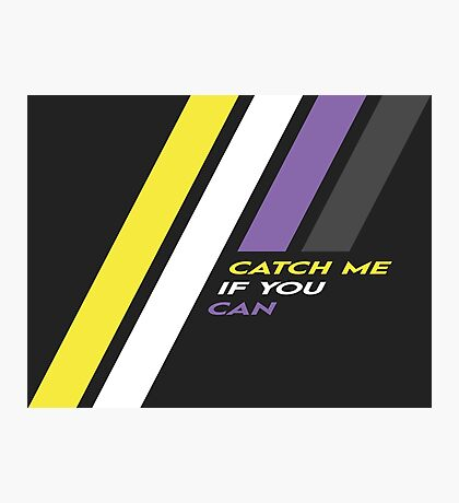 Pride Stripe: Catch Me If You Can Photographic Print