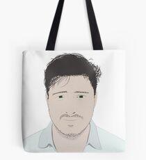 Marcus Mumford Illustration Tote Bag
