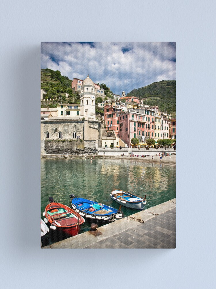 Alternate view of Vernazza Canvas Print