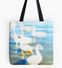 Swans - Energy Tote Bag